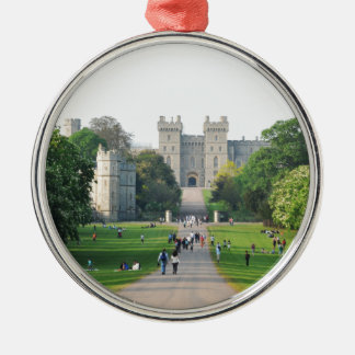 Windsor castle christmas ornament
