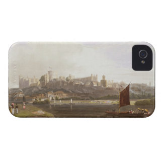 Windsor Castle from the River Meadow on the Thames iPhone 4 Case-Mate Case