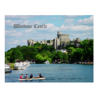 Windsor Castle from the Thames Postcard