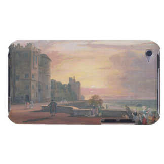 Windsor Castle: North Terrace looking west at suns iPod Case-Mate Case