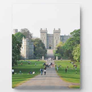 Windsor castle plaque