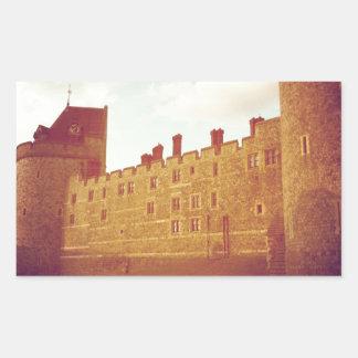 Windsor Castle Rectangular Sticker