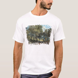 Windsor Forest with Oxen Drawing Timber, 1798 T-Shirt