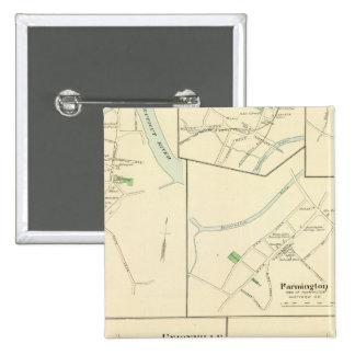 Windsor Locks 15 Cm Square Badge