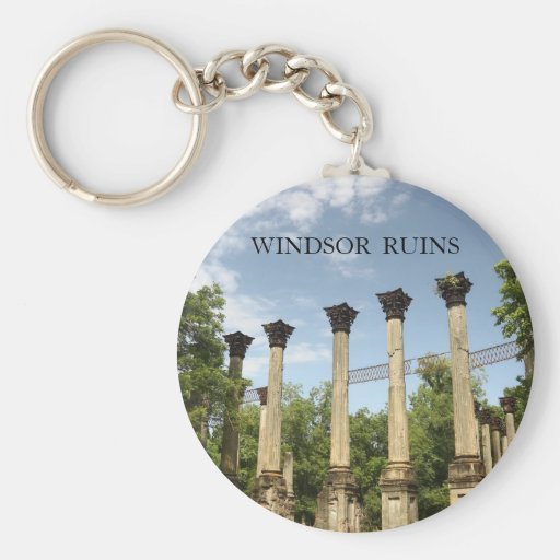 Windsor Ruins Mississippi Classic Keyring Key Chains
