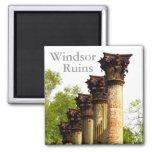 Windsor Ruins Mississippi refrigerator magnet