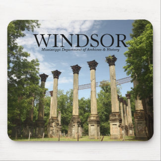 Windsor Ruins ~ MS Dept of Archives & History Mouse Mat
