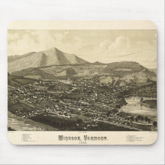 Windsor Vermont (1886) Mouse Pad