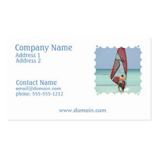 Windsurf Aruba Business Card
