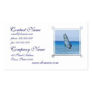 Windsurf Business Card Template