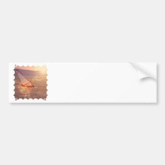 Windsurf Design Bumper Sticker