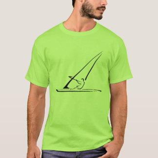 Windsurf enhanced black outline T-Shirt
