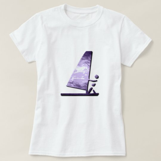 Windsurfer Design Ladies T-Shirt
