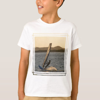 Windsurfer Image  Kid's T-Shirt