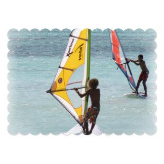 Windsurfer Personalized Announcement
