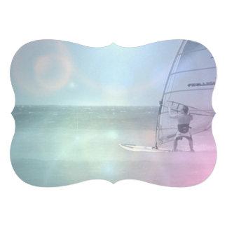 Windsurfer Custom Invitation