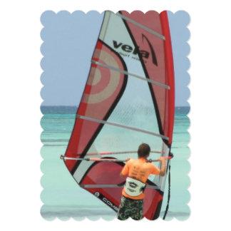 Windsurfer Personalized Invitation
