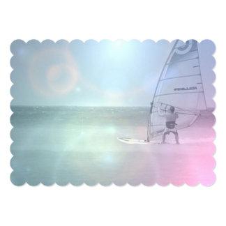 "Windsurfer 5"" X 7"" Invitation Card"
