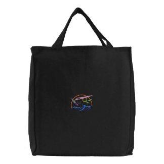 Windsurfer Logo Embroidered Tote Bag