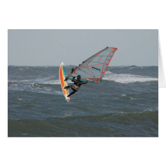 Windsurfer - North Jytland, Denmark Card