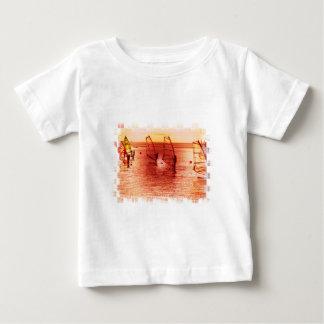 Windsurfers on Horizon Baby T-Shirt