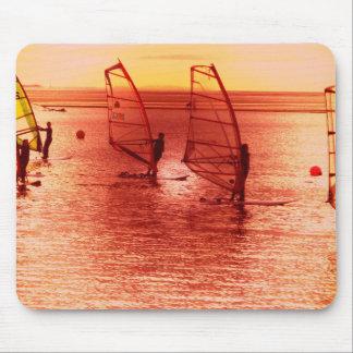 Windsurfers on Horizon Mouse Pad