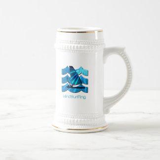 Windsurfing Beer Stein