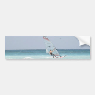 Windsurfing Bumper Sticker
