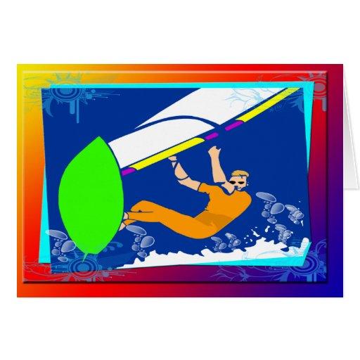 Windsurfing Cards