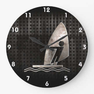 Windsurfing; Cool Large Clock