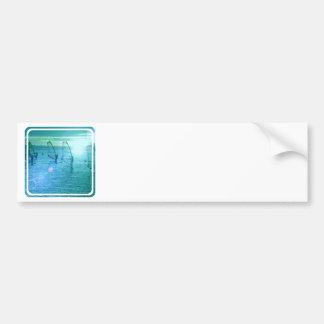Windsurfing Design Bumper Sticker