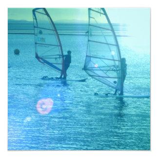 Windsurfing Design Invitation