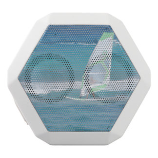 Windsurfing in the Tropics White Boombot Rex Bluetooth Speaker