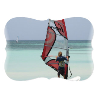 Windsurfing Personalized Invitation