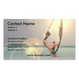 Windsurfing Sport Business Card