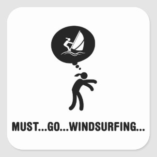 Windsurfing Stickers