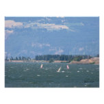 Windsurfing the Gorge Poster