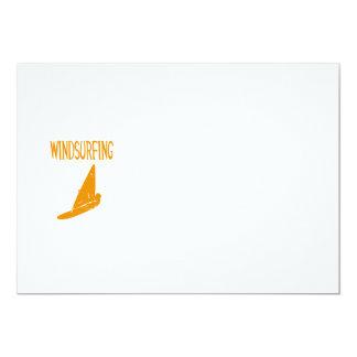 windsurfing v1 orange text sport copy.pngc 13 cm x 18 cm invitation card