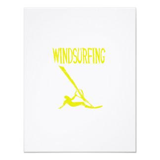 windsurfing v3 yellow text sport copy.png 11 cm x 14 cm invitation card