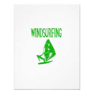 windsurfing v4 green text sport copy.png 11 cm x 14 cm invitation card