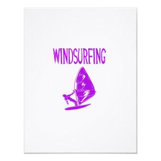 windsurfing v4 purple text sport copy.png 11 cm x 14 cm invitation card