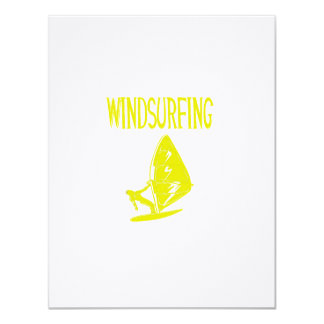 windsurfing v4 yellow text sport copy.png 11 cm x 14 cm invitation card