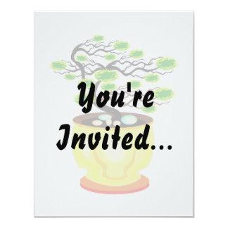 Windswept Bonsai Huge Pot Color 11 Cm X 14 Cm Invitation Card