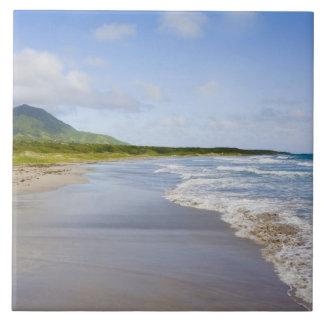 Windward Beach, Nevis Large Square Tile