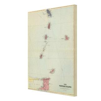 Windward Islands Canvas Print
