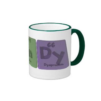 Windy as Tungsten Indium Dysprosium Coffee Mug