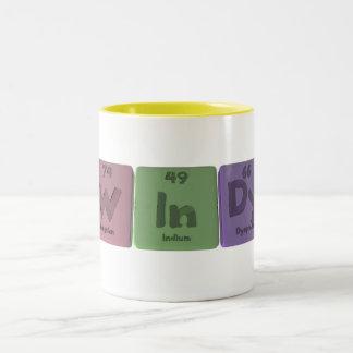 Windy as Tungsten Indium Dysprosium Coffee Mugs