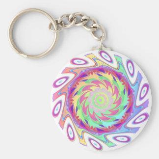 Windy Basic Round Button Key Ring