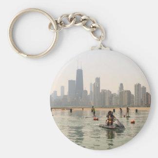 Windy City Pics 2015-84.JPG Basic Round Button Key Ring