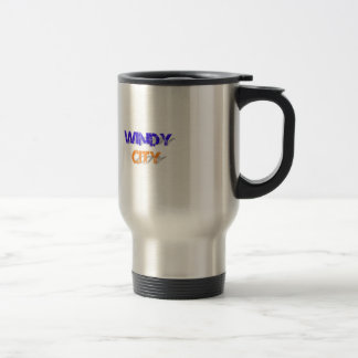 Windy City Stainless Steel Travel Mug